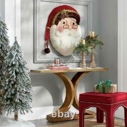 Katherine's Collection Woodland Santa Wallpiece