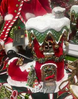 Katherines Collection Holiday Elf Boot Christmas Village House 28-828326