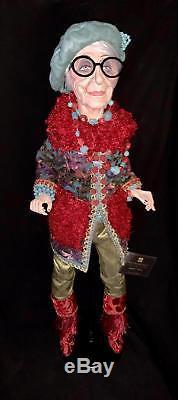 Katherines Collection Le Fete Bohemian Lady Grandma Doll 28-728472 Sample