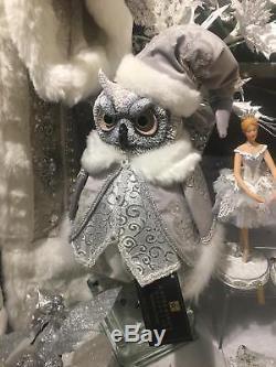 Katherines Collection Winter Wonderland Tabletop Owl Christmas 18-844761