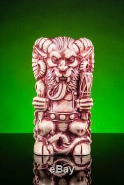 Krampus Mondo Tee-Kis Designer Series Tiki Mug Christmas Florian Bertmer Ceramic
