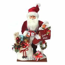 Kurt Adler 18Postman Santa