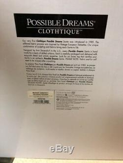 LIGHTED Possible Dreams National Lampoon Christmas Vacation Clothtique Santa 17