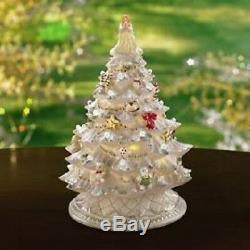 Lenox A Bright & Merry Christmas Tree Lighted NIB Retired
