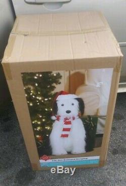 Lifesize Jumbo Animated Sheepdog Old English Sheep Dog Plays Songs Christmas