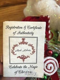 Limited Edition Mark Roberts Peppermint Pleasures Medium Fairy