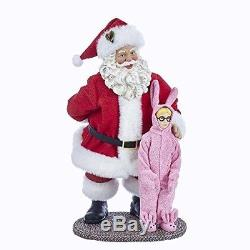 Limited Edition Santa Christmas Story Collectible Decoration figure Props Gift