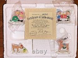 Lot of 7 Rudolph's Christmas Town Accessory (7) Sets, by Hawthorne Village