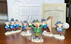 Lot of 9 Rudolph's Village Friends Accessory (9) Sets, by Hawthorne Village