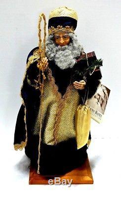 Lynn Haney 3 Wise Men Kings Set Balthasar, Kaspar, Melchior New Free Shipping