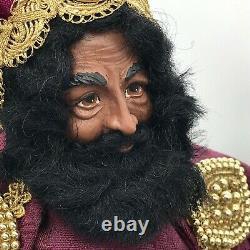 Lynn Haney The Wise Man Balthasar #4037 Signed Ltd 1st Edition 1997 Nativity