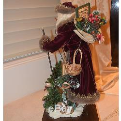Lynn West Limited Edition handmade Christmas characters/fairy/doll artist signed