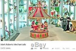 MARK ROBERTS World's Fair Carousel Swing, #51-12292 Store Display