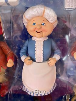 MIB NECA Year Without A Santa Claus Figure TRIO SET Mrs Claus HEAT MISER Jingle