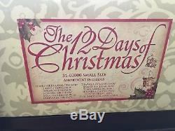 Mark Roberts 12 Days Of Christmas Set of 12 Small Elves NIB