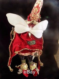 Mark Roberts 12 Drummers Drumming Fairy, Large Limited Ed. #944 22 in. In box