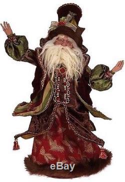 Mark Roberts 24 Globetrotting Christmas Santa 2014 NEW