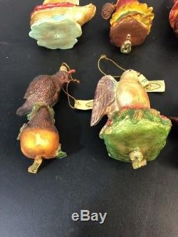 Mark Roberts All 12 Days Of Christmas Ornaments rare small X-Mas Tree