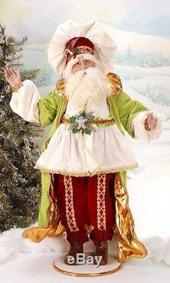 Mark Roberts Brand New Large Beautiful 48 Candy Land Santa
