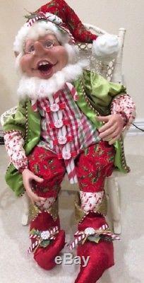 Mark Roberts Candycane Elf Large