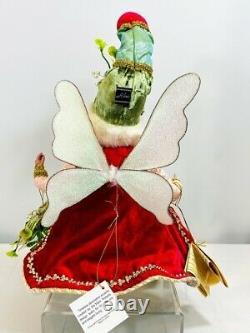 Mark Roberts Christmas Fairies & Elves Mistletoe Fairy, MD 16, item# 51-05948