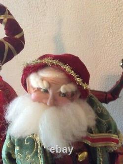 Mark Roberts Christmas Fairies Mechanical Tabletop Display Rare And Unusual