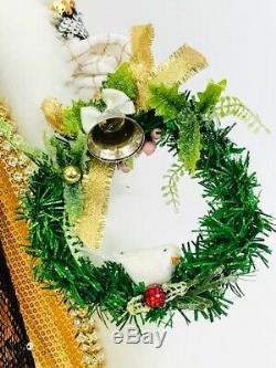 Mark Roberts Christmas Santa Claus Christmas Dove Santa, #51-85710 NIB