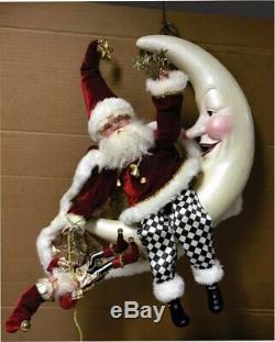 Mark Roberts Christmas Santa Moon