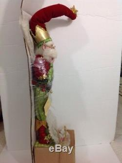 Mark Roberts Christmas Wishes Fairy Stocking Holder (hard to find). New! 21