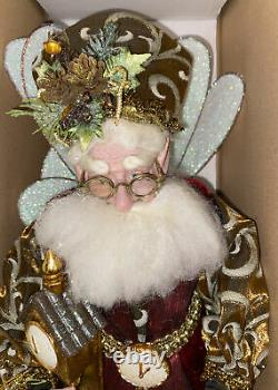 Mark Roberts Clockmaker Fairy, Med. #51-02372. Limited Ed. 169/1000. With Stand
