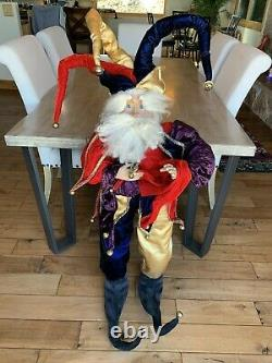 Mark Roberts Collectors Christmas LIFE SIZE 50 Jester Fairy VERY RARE