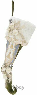 Mark Roberts Elegant Christmas Stocking 28 24-90710