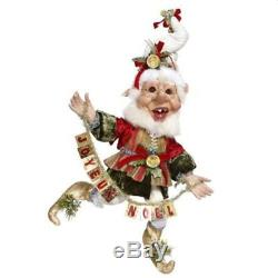 Mark Roberts Elves Joyeux Noel Elf Medium 16 Inches