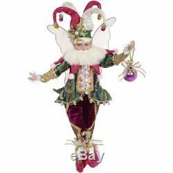 Mark Roberts Fairies 51-97212 Jingle Jester Fairy Medium 16 Inches
