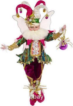 Mark Roberts Fairies Jingle Jester Fairy 51-97212 Medium 16 Figurine