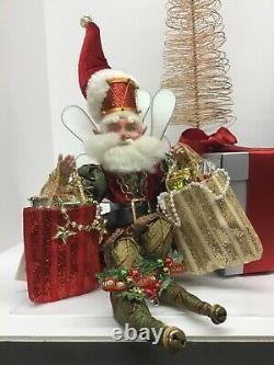 Mark Roberts Fairies Ole Christmas Fairy 51-27852 Medium 15.5 Figurine