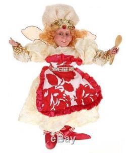 Mark Roberts Fairies, Queen Of The Kitchen Fairy, Medium 15.5 Inches