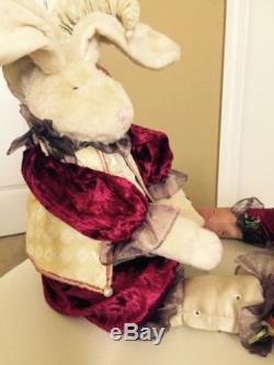 Mark Roberts Jester Stuffed Rabbit X-Large