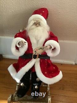 Mark Roberts Joyful Times In Santas Workshop #51-35548 COA #1 Of 500 Holiday