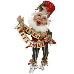 Mark Roberts Merry Christmas Elf Medium 19 51-77663