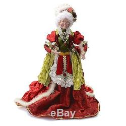 Mark Roberts Mrs. Clause Cooking Limited Edition 24 Collectible NEW
