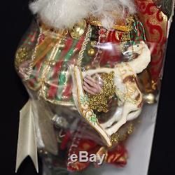 Mark Roberts North Pole Fairy Medium 5162398 Limited Edition Wooden Horse Tartan