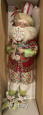 Mark Roberts Peppermint Pleasures Fairy, Medium #51-42488. With Stand