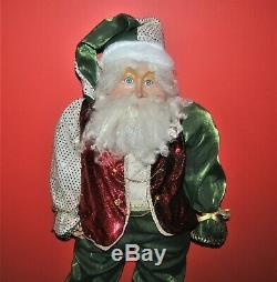 Mark Roberts Santa Extra Large 42 Poseable FREE SHIPPING