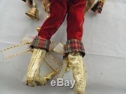 Mark Roberts Santa Fairy Bells 15 (not including the Hat)