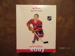 Maurice Rocket Richard Hallmark Keepsake Christmas Ornament Montreal Canadiens