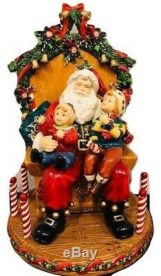 Members Mark Traditions With Santa Holiday Collection 2005 Hand Painted Figurine