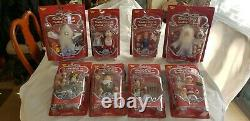 Memory Lane- Santa Claus is Coming to Town- Complete 8 piece set- New-Unopened