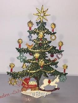 Mib Wilhelm Schweizer Diessen Pewter Childrens Christmas Tree