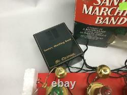 Mr Christmas Santa's Marching Band Teddy Bears 16 Bells 35 Songs Excellent